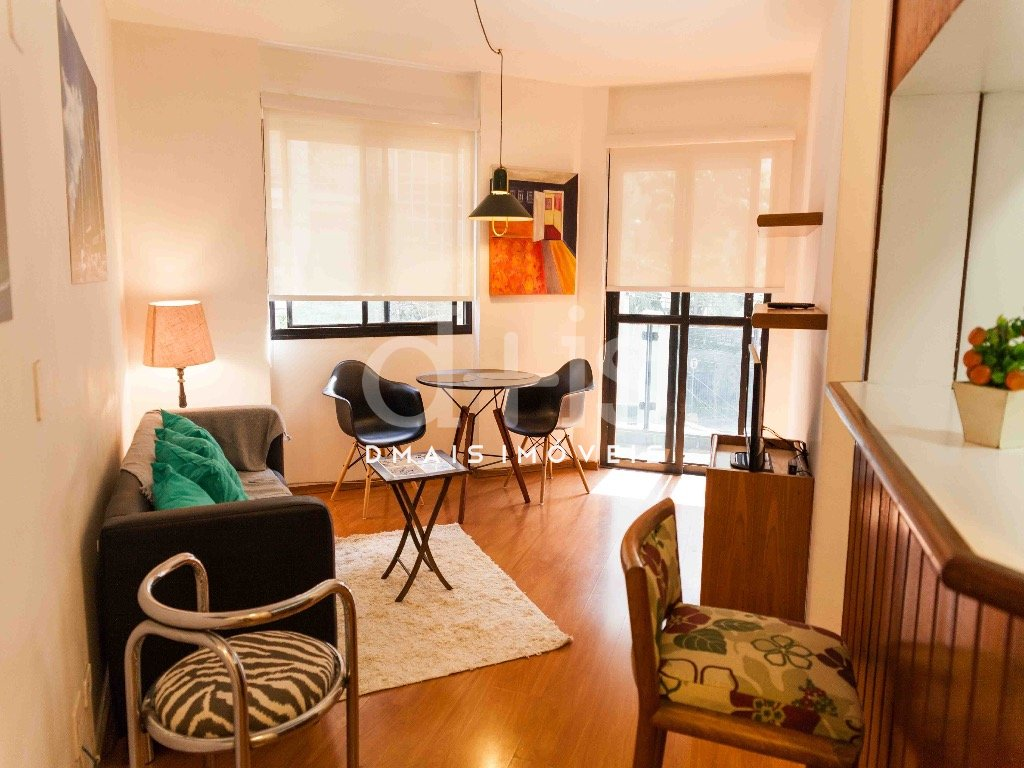 Apartamento mobiliado para alugar no Jardim Paulista